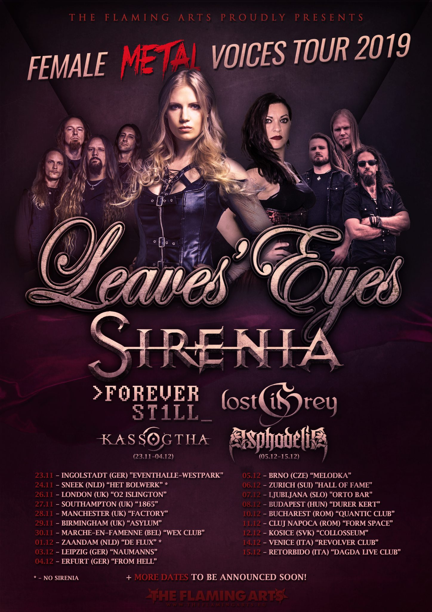 Female Metal Voices Tour UPD