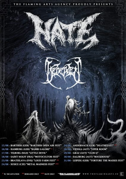 Hate Beheaded Tour 2019