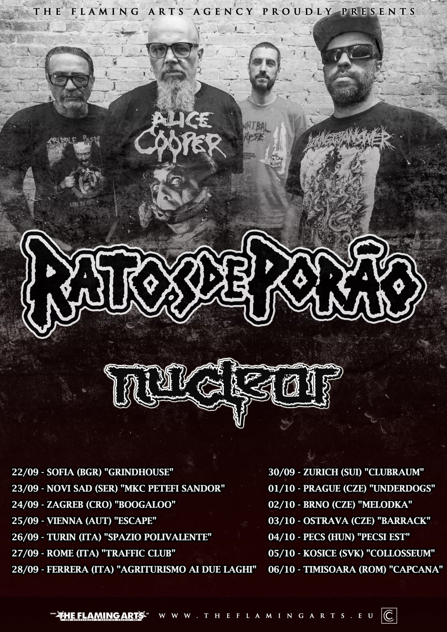 Ratos de Porao updated poster