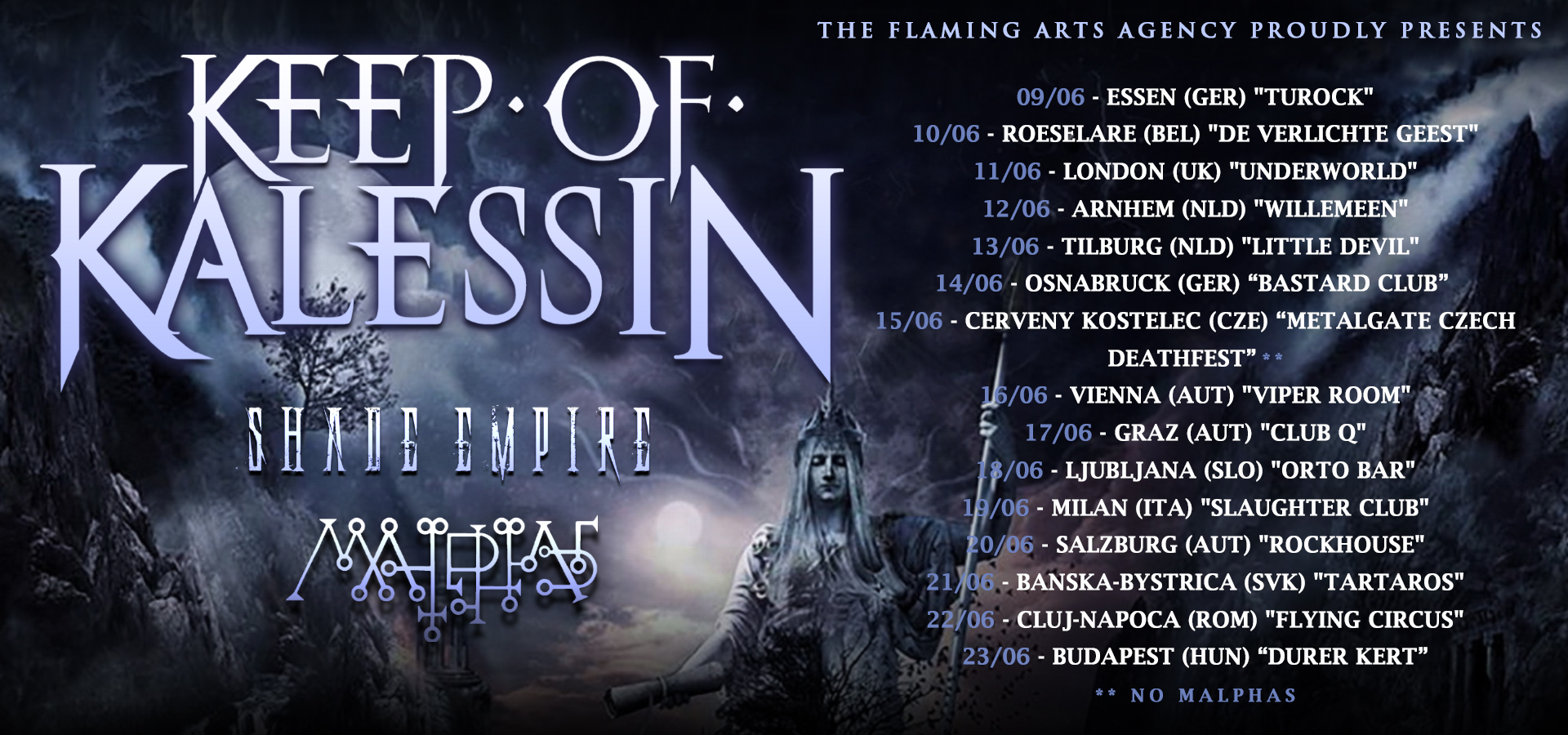 Keep of Kalessin Tour 2019