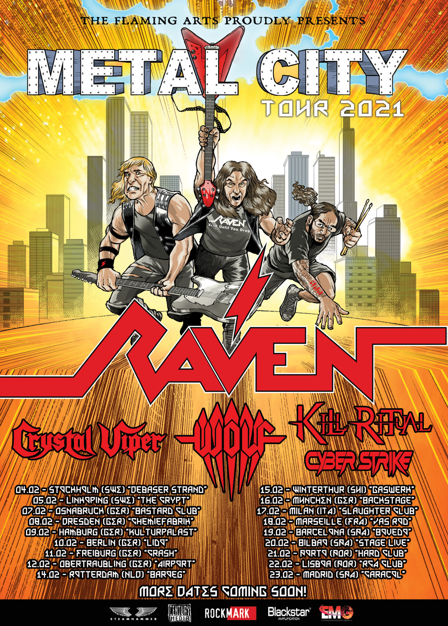 metal city tour